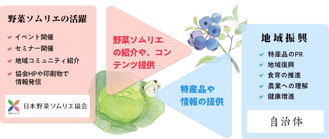 日本野菜ソムリエ 自治体パートナー制度
